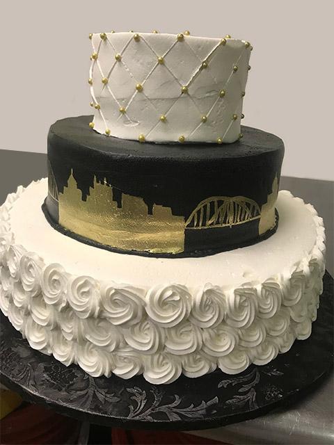 Pittsburgh Wedding Cake Album by Signature Desserts